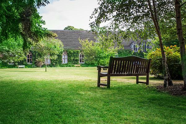 Ascot Nursing Home Gardens